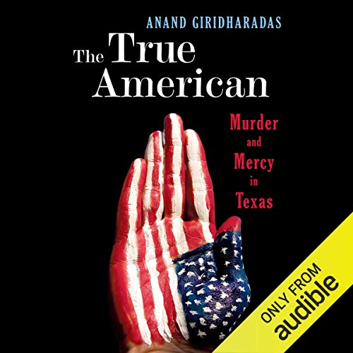 The True American audiobook cover art