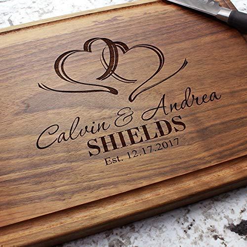 Personalized Cutting Board Anniversary Gift Custom Cutting Board Engraved Cutting Board Closing Gift 3 Housewarming Gift Wedding Gift