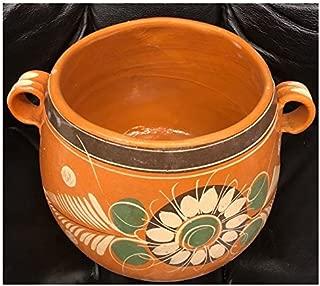 Authentic Mexican Barro Olla Jarro De Tonala Bola Grande Mexicana Jarrito Para Frijol Frijoles Sopas Boiling Beans Chilis Soup Clay Pot