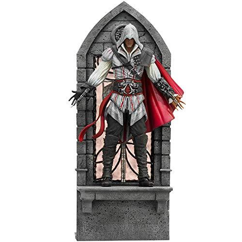 Estatua Ezio Auditore 21 cm. Assassin's Creed II. Iron Studios. Deluxe. Art Scale 1:10