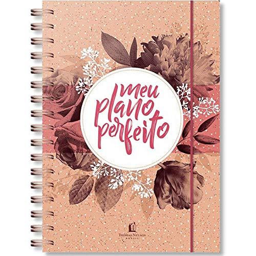 Meu Plano Perfeito - Nova Edição (2021) - Capa Dura Rosa Floral - Exclusivo 100% Cristão