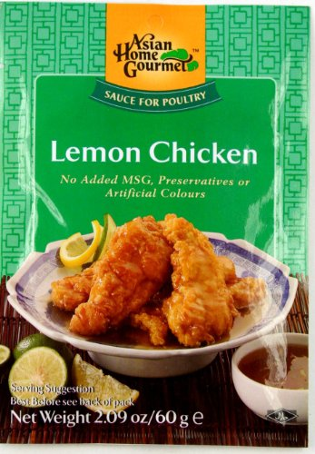 ASIAN HOME GOURMET, Sauce For Cantonese Lemon Chicken, 50g