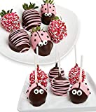Gifts - Ladybug Cake Pops and Chocolate Covered Strawberries