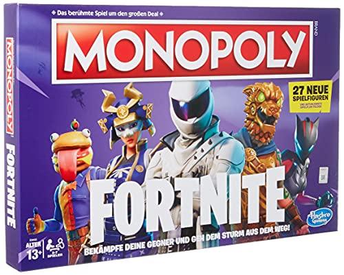Monopoly Fortnite - Gioco da Tavolo a Partire da 13 Anni [Versione Tedesca]