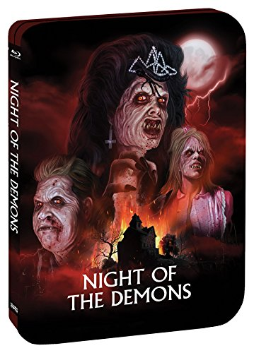 Night Of The Demons [Limited Edition Steelbook] [Blu-ray]
