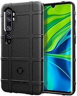 حافظة هاتف شاومى CC9 Pro/Mi Note/Note 10 Pro للهاتف المحمول غطاء واقٍ ناعم من السيليكون مضاد للسقوط - أسود