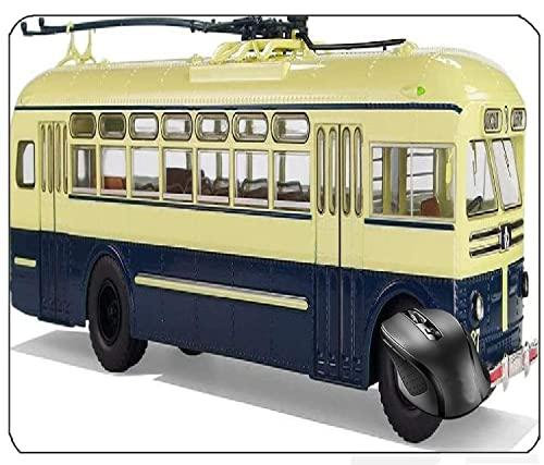 AVENTN Ziu MTB Trolley Bus Motor eléctrico Trolley sin rieles Trolley City Bus Model Transport Hob Oberleitungsomnibus Electric Transport Collect Leisure Lane Alfombrilla de ratón