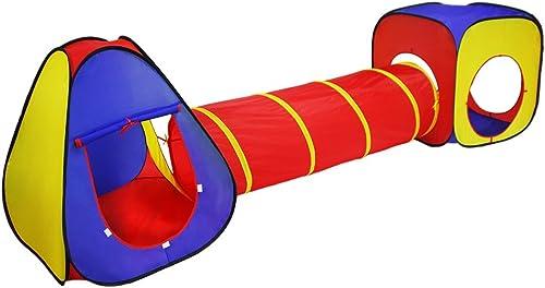 orden ahora disfrutar de gran descuento EODUDO-S-play tents Tienda de de de Juegos para Niños Juego Tent Tunnel Set- 3 Piezas Gran Regalo para Niños y niñas, Niños pequeños y bebés - Interior Exterior  Ahorre 35% - 70% de descuento