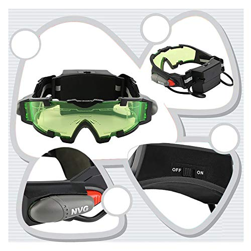 Gafas Mtb Ciclismo, Gafas De Visión Nocturna Con Luces Abatibles, Mejora La Visión En La Luz, Para El Trabajo Y El Deporte, Protección Ocular Uv Y De Impacto