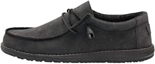 Men's Wally Recycled Leather Carbon, Size 11