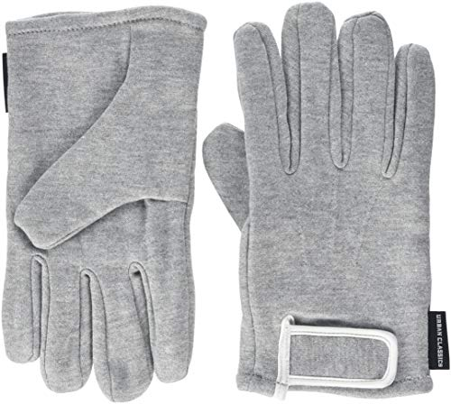 Urban Classics 2-tone Sweat Gloves Gants, Multicolore (Gry/wht 00132), Large (Taille fabricant: L/XL) Mixte