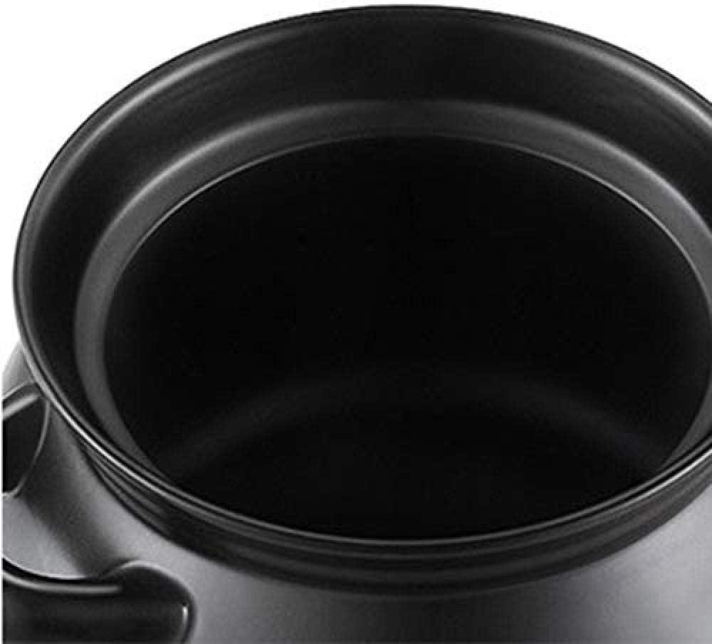LIUSHI Pot en Terre Cuite Pot en Terre Cuite Pot en céramique Pot en Terre Cuite - Sain et sûr Durable Antiadhésif Facile à Nettoyer Capacité 6L_A Capacity 9l|a