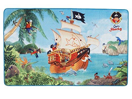 Capt´n Sharky Kinderteppich, Bunt, 100x160cm