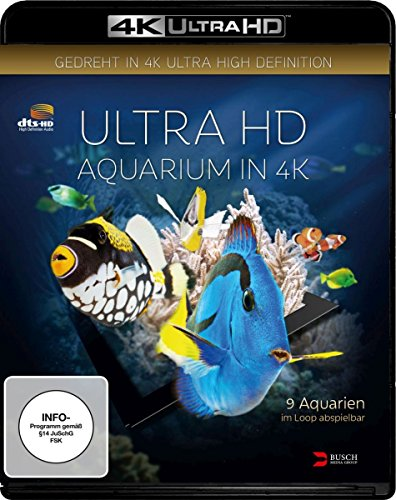 Aquarium (4K Ultra HD) [Blu-ray]