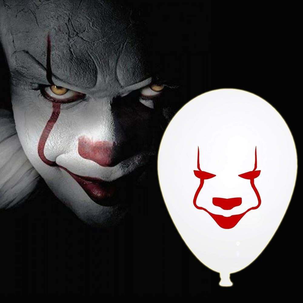 IT Movie Scary Creepy Clown Buttons Party Favors Supplies Decorations Collect...