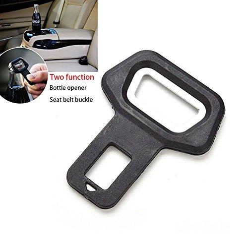 ZHUOTOP 1 pieza Universal Coche Auto Abrebotellas Cinturón Hebilla Alarma Tapón Clip Durable