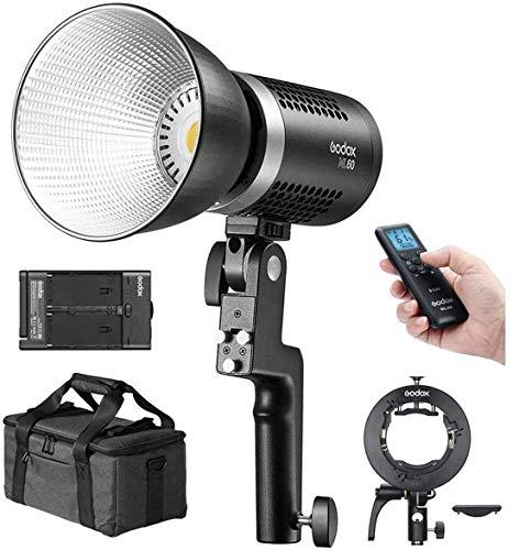 【Godox正規代理店】Godox ML60 手持ち式LEDビデオライト 60W 5600K 昼光バランス 撮影補助光 CRI96 TLCI97...