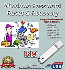 Are you locked out of your computer? Forgot your password? This #1 Password Reset Recovery USB software can quickly reset and unlock your PC and lets you keep your files without doing a full reinstall! Easy to use. Simply insert the USB, set your com...
