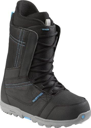Burton Herren Boots Invader, Black/Cyan, 10, 10651101040