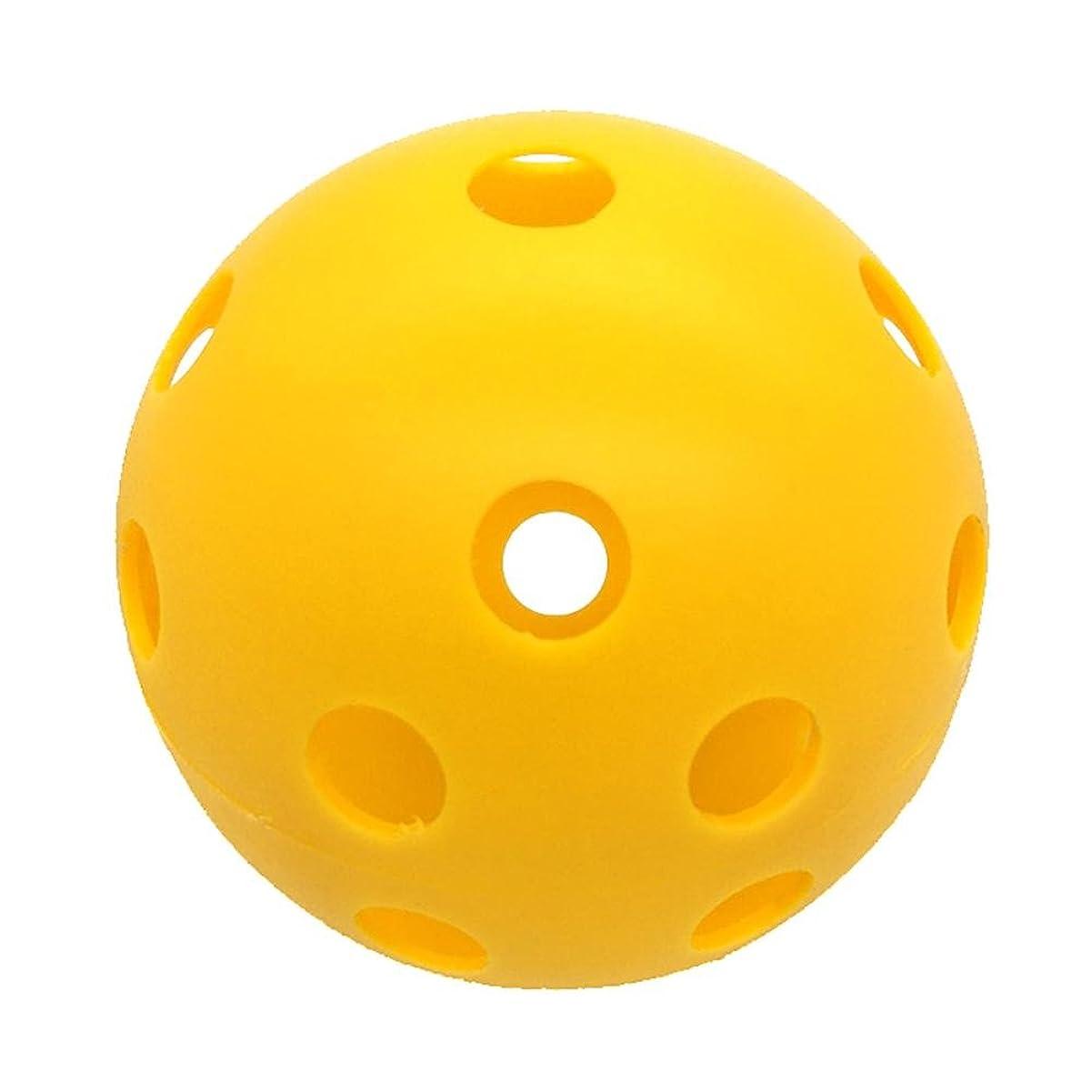 支配的気配りのあるクリップpretty-jin穴ボールPractice穴ボールピークインドアゴルフ複数の穴10個練習ボールPickleballインドアゴルフボールペットトレーニングボール