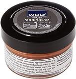 Woly Shoe Cream, Trattamenti e Lucidi per Scarpe Unisex Adulti, Marrone (Light Brown), 50.00 ml