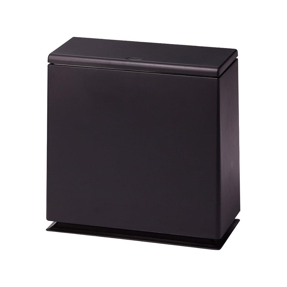 縫う遺跡息切れイデアコ フタ付ゴミ箱 チューブラー キッチン フラップ ブラウン 8.5L