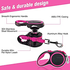 Cat Harness and Retractable Leash Set - Escape Proof Reflective Mesh Walking Vest with Adjustable 16.5ft Leash for Cat Small Dog Pet