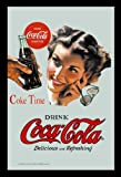 empireposter Coca Cola Coke Time - Bedruckter Spiegel mit