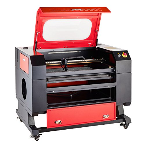 """Orion Motor Tech 60W Co2 Laser Engraver Cutter 20"""" x 28"""" Laser Engraving Cutting Machine with USB Port Interface, Red Dot Guidance and Windows PC Software for DIY Home and Business Applications"""