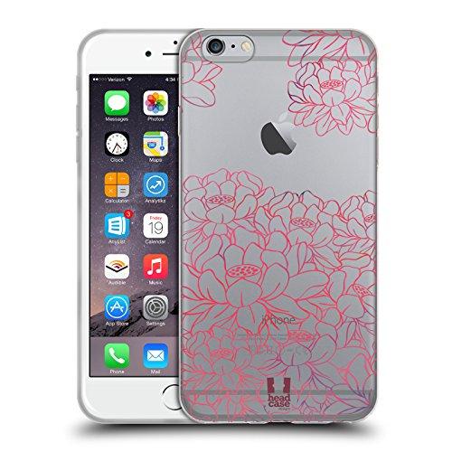 Head Case Designs Ramo Paraíso del Loto Carcasa de Gel de Silicona Compatible con Apple iPhone 6 Plus/iPhone 6s Plus