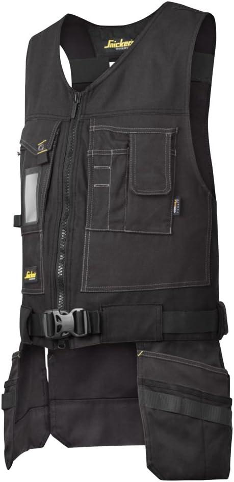 LTI by Krino 65991040 Gilet technique porte-outils multi-poches pour...
