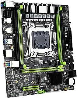 16 trådar moderkort X79M2 2.0 Med Xeon E5 2640 V2 -processor DDR3 1600MHz ECC/REG RAM M.2 SSD 8 kärnor