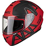 Best Motorcycle Helmets - Shox Sniper Evo Caliber Motorcycle Helmet M Matt Review
