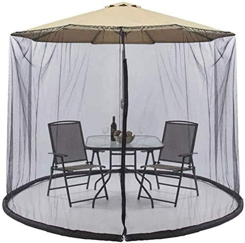 Neuer Sonnenschirm Pavillon Regenschirm Ihr Sonnenschirm in einen Pavillon Outdoor Gartenschirm Tischschirm Regenschirm Moskito-Insekten-Netz-Abdeckung Sonnenschirm-Umwandlungs-Abdeckung Verwandeln S