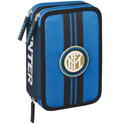 ASTUCCIO 3 ZIP INTER ORGANIZZATO COMPLETO FC. Internazionale 62706