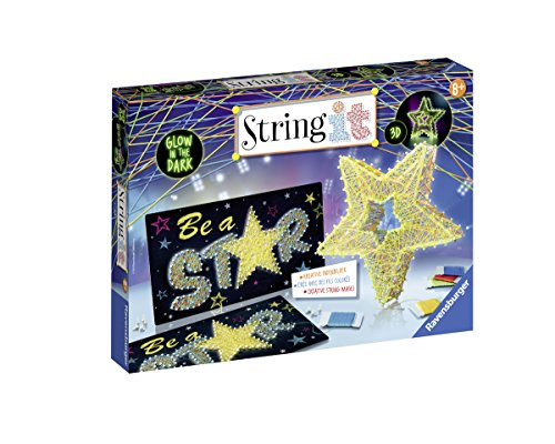 Ravensburger 18052 - String it Maxi: Be a Star