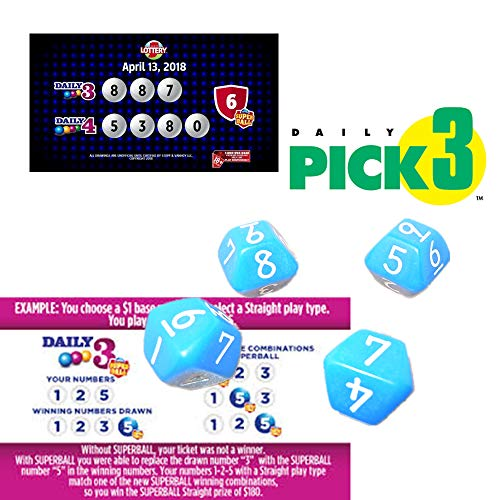 Lottery Lucky Number Selector Ny Lottery Pick 3 Daily3 Daily 4 Numbers Win 4 Ny Lottery Pick 4 Etc The Same Game Lottery Dedicated 4 Dice With 10 Faces 0 9 Number Buy Online In Aruba At