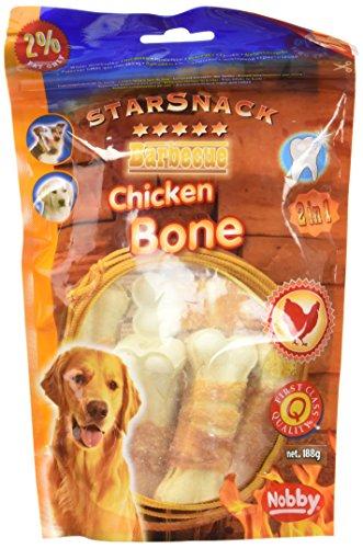 Nobby STARSNACK Barbecue Chicken Bone 7,5 cm, 188 g, 7 St