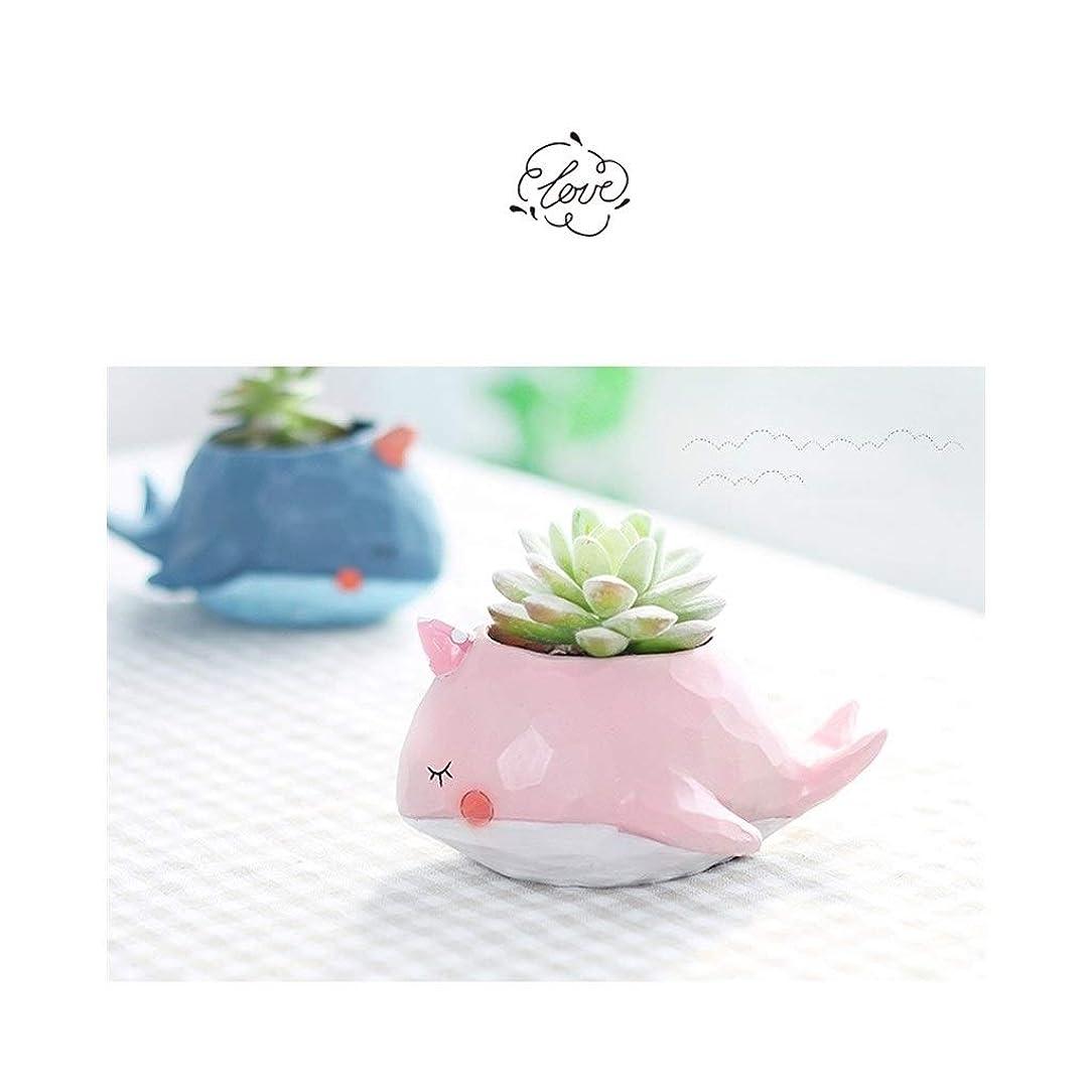 ヘアミット器用フラワープランターポットかわいい漫画の動物、装飾的な小物、2個買うと1個無料、4個買うと2個 (Color : A101)