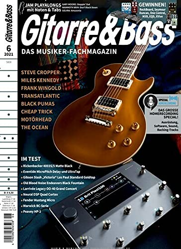 Gitarre & Bass 6/2021