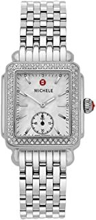 Deco Mid Diamond Mother of Pearl Dial Women's Watch MWW06V000001