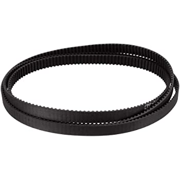 sourcing map GT2 Timing Belt 122mm Circumference 6mm Width Closed Fit Synchronous Pulley Wheel for 3D Printer
