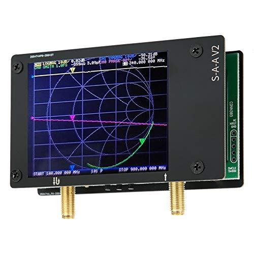 Walfront V2 Vektornetzwerkanalysator VNA 50k-3G Frequenzprüfgeräte Spektrumanalysatoren Perfekt für Netzprüfungen