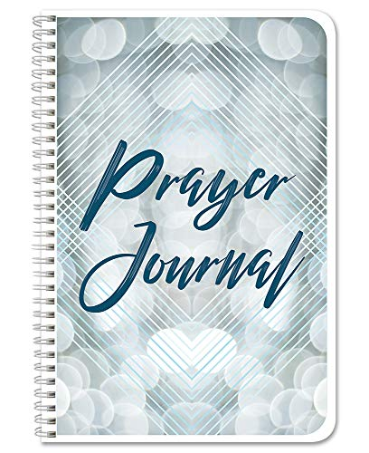 "BookFactory Prayer Journal/Bible Prayer Diary/Devotional Log Book - 100 Pages, Wire-O, 6"" x 9"" (JOU-100-69CW-PP-(Prayer))"
