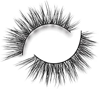 Lilly Lashes Lite Mink Luxe | False Eyelashes | Natural Look and Feel | Mink | Stackable & Reusable | Non-Magnetic | 100% Handmade & Cruelty-Free