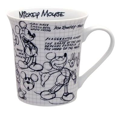 Disney Sketchbook Mickey Dinner Plate