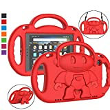 LTROP All-New Fire HD 8 Tablet Case, Fire 8 2018 Case for Kids - Light Weight Shock Proof Handle Friendly Stand...