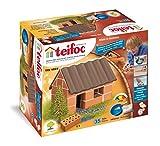 Eitech T1024 Teifoc Steinbaukästen-TEI 1024-Kleines, Multi Color, Kleines Einfamilienhaus