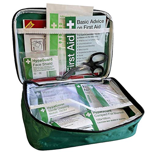 Travel and Motoring First Aid Kit BS 8599-1: 2019 Compliant (Soft Bag)