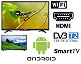 SMART TV 32 Pollici HD LED 32' LED-32DN6A7 WIFI DVB-T2 ANDROID hdmi usb